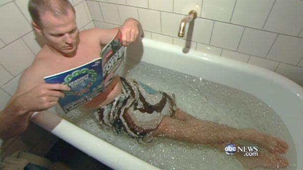tim ferris cold bath