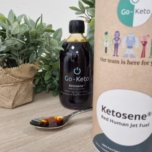 ketosene rouge regime ectogene