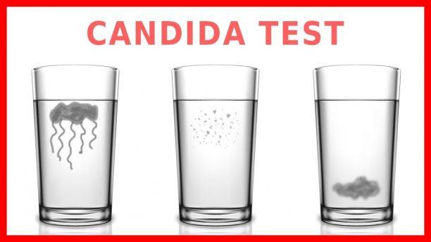 candida test du verre d'eau