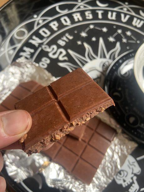 chocolat lait et noix de coco aux mct